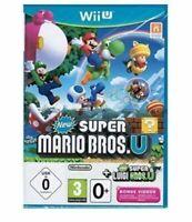 New Super Mario Bros U (Wii,U) Mint Same Day Dispatch 1st Class Delivery Free