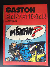 Album Pub Chevron Gaston en action  EO ETAT NEUF Lagaffe
