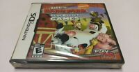 Back at the Barnyard: Slop Bucket Games (Nintendo DS, 2008) NDS 2DS 3DS NEW