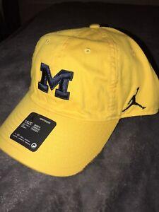 Michigan Wolverines Jordan Heritage 86 Slouch Adjustable Performance Hat Cap