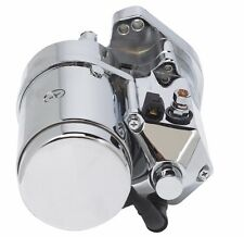 Ultima Thunder Fire Chrome 2.4KW Top Post Starter HD 1989-2006 Harley Big Twin