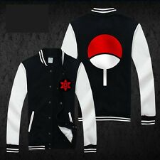 Anime NARUTO Uchiha Sasuke Sharingan Unisex Sweatshirt Hoodie Winter jacket coat