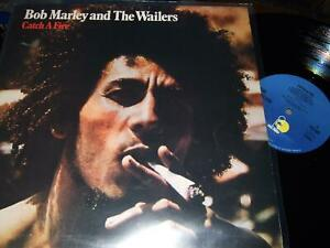 BOB MARLEY AND THE WAILERS : CATCH A FIRE LP ISLAND ILPS 9241 UK
