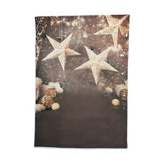 6x10ft Snowflake Christmas Star Photographic Background Backdrop For Photo Props