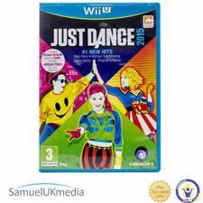Just Dance 2015 (Nintendo Wii U) **GREAT CONDITION**