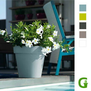 Central Garden Wheels Round Blumentopf Blumenkübel Rollen 40 cm | 50 cm | 60 cm