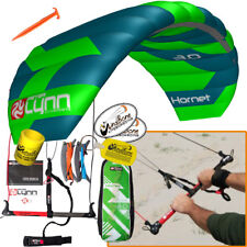 Peter Lynn Hornet 3M Foil Power Kite Kiteboarding 4-Line Fixed Control Bar 2017