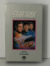 """Star Trek TV Series VHS Tape, """" The Collectors Edition"""" Two Episodes"""
