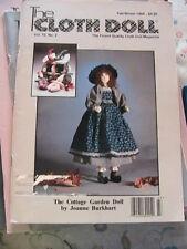 THE CLOTH DOLL 1992 Vol 10~No 2 cloth art doll patterns~techniqs~how to magazine