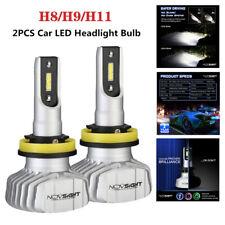 2X 10000LM Novsight H11 H8 H9 LED Headlight Bulb Car Auto Upgrade Conversion Kit
