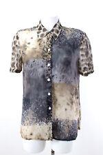 oui Bluse Gr. 36 Klassische Damenbluse Kurzarm Blouse Shirt
