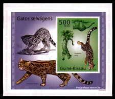 Guinea-Bissau Epreuve DE LUXE gatti selvatici GATTI GATTO Wildcats DELUXE SHEET dg61