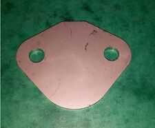 STAINLESS Fuel Pump Blank Plate - BMC A Series Engine Mini Austin Riley Metro MG