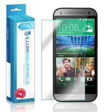 2x iLLumi AquaShield Crystal HD Clear Screen Protector Shield for HTC One Mini 2
