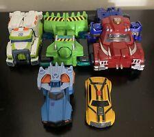 TRANSFORMERS Random Lot of 5 Figures TOYS Tanks Cars