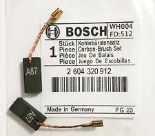 Genuine Bosch CARBON BRUSHES for GST 60 PBE GST 85 PBE GST 80 PBE Jigsaw S4A