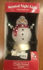 St. Nicholas Scented Snowman Plugin Night  Brites Light Holiday Sparkle