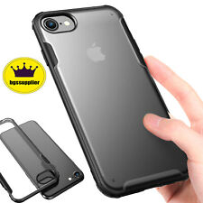 For iPhone 6 6S 7 8 Plus SE 2020 Slim Matte Clear Case Shockproof TPU Hard Cover