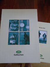 LAND Rover COLLECTION lifetsyle ACCESSORI opuscolo 1996 ref lrml 1244