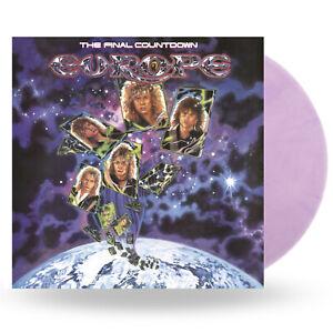 Europe - The Final Countdown - New Light Purple Vinyl LP - National Album Day