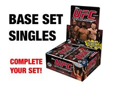 TOPPS UFC ROUND 2 2009 BASE CARD - STARS RC ROOKIES - COMPLETE YOUR SET