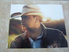 Jason Aldean Sexy Country Music Promo 8x10 Color Music Photo #1
