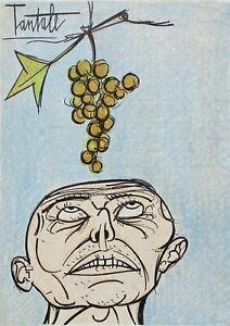 Buffet Bernard: Tantalum - Lithography Original - Referenced, 1967 Per Mourlot