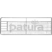 PATURA Stahltor Weidetor Weidezauntor m. Gitter 3,50 m