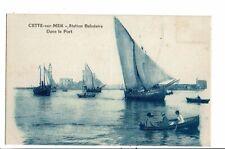 CPA-carte postale-FRANCE-Cette sur Mer-Station Balnéaire -Dans le Port -VMO16090