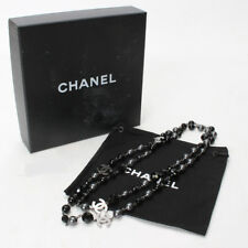Authentic CHANEL Fake pearl long Necklace Metallic A37241 A37241 10115209