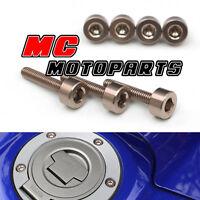 Titanium Honda Gas Fuel Cap Bolts Screws CBR250RR CBR400RR NC39 MC22 92-97