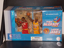 McFarlane NBA Tracy McGrady & LaBron James 2 Pack Figures New In The Box