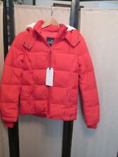 American Eagle AE women Down  puffer jacket Size XS style 2202 Red NWT