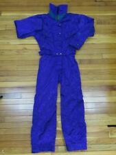 Black Bear Womens One Piece Snow Ski Suit Size XS Purple Insulated Jacket Pants