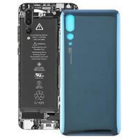 Huawei P20 Pro Cover Copertina Retro Batteria Copertura Posteriore Vetro Blu