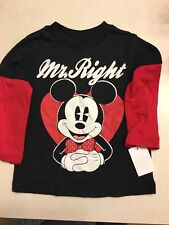 Disney Mickey Mouse Shirt Size 3T