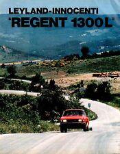 Vecchio Articolo originale anni 70 Leyland Innocenti Regent 1300L Clipping