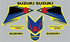 SUZUKI LTZ 50 LTZ50  QUAD GRAPHIC / DECAL KIT FACTORY STYLE YELLOW OR WHITE