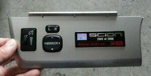 SCION XB Release Series 6.0 Plaque