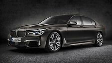 2016 BMW 760li xdrive v12 24X36 inch poster, sports car