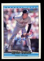 Kevin Tapani #236 signed autograph auto 1992 Donruss Baseball Trading Card