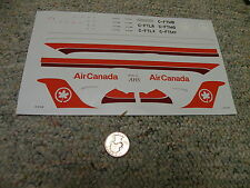 Airline Hobby Supplies AHS  decals 1/144 Air Canada    - sheet only  H78
