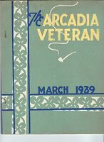 MC-234 - The Arcadia Veteran, March, 1939, Hope Valley, RI, CCC Civilian Conserv