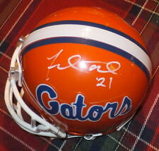 FRED TAYLOR Gators Autographed Mini Helmet including BDS COA #2586