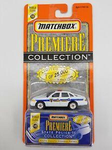 South Dakota Highway Patrol Matchbox Premiere State Police II Series 18