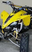 ATV,SHOCK COVER,PROTECTEUR D'AMORTISSEUR,VTT,YAMAHA,SUZUKI,MONSTER YELLOW