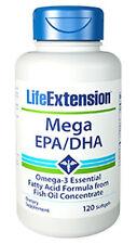 Mega EPA/DHA - Life Extension - 120 Softgels