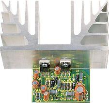 Low-Cost 30 Watt HiFi-Verstärker 12V-30V Komplettbausatz mit Leistungskühlkörper
