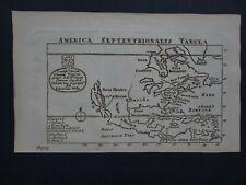 1761 WELLS Atlas map NORTH AMERICA - California Island - America Septentrionalis
