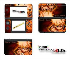 SKIN STICKER AUTOCOLLANT - NINTENDO NEW 3DS - REF 95 NARUTO